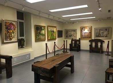 韩建民中俄油画收藏馆